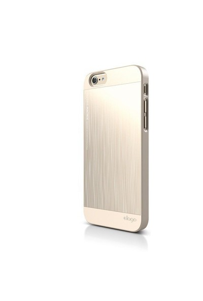 Elago Apple iPhone 6 S6 Outfit Matrix Series Kılıf - Gold (Ekran Koruyucu Hediye)