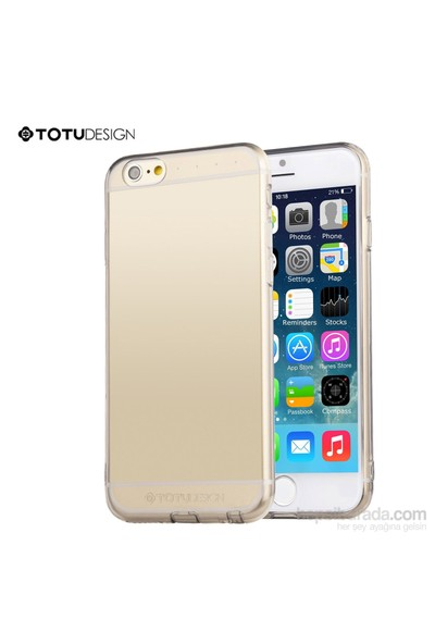 Totu Design Apple iPhone 6 Plus Soft Şeffaf Kılıf