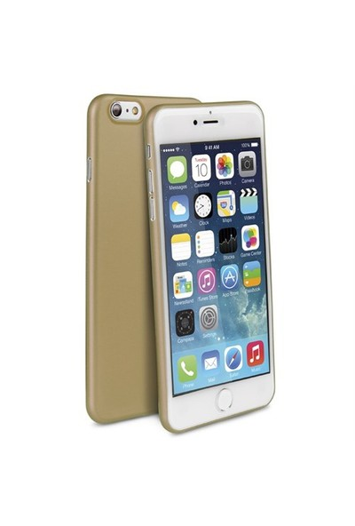 Uniq Apple iPhone 6/6S Bodycon 03 Mm İnce Kılıf Gold