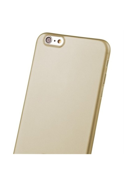 Uniq Apple iPhone 6/6S Bodycon 03 Mm İnce Kılıf Gold