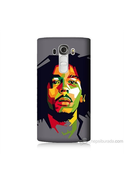 Teknomeg Lg G4 Kapak Kılıf Bob Marley Baskılı Silikon