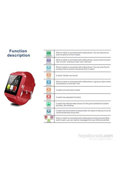 DTS U80 Ios & Android Uyumlu Akıllı Saat