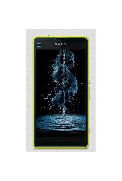 Microsonic Full Body Temperli Cam Ekran Koruyucu Sony Xperia Z1 Compact Ön + Arka