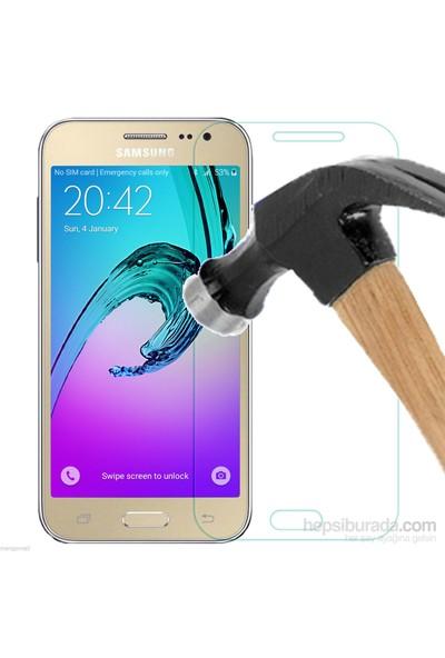 Markaawm Samsung Galaxy J2 Temperli Cam Ekran Koruyucu