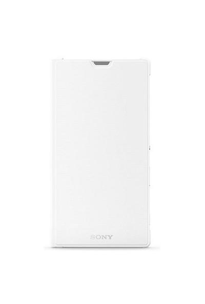 Sony Scr16 Xperia T3 İçin Standlı Kılıf | Beyaz