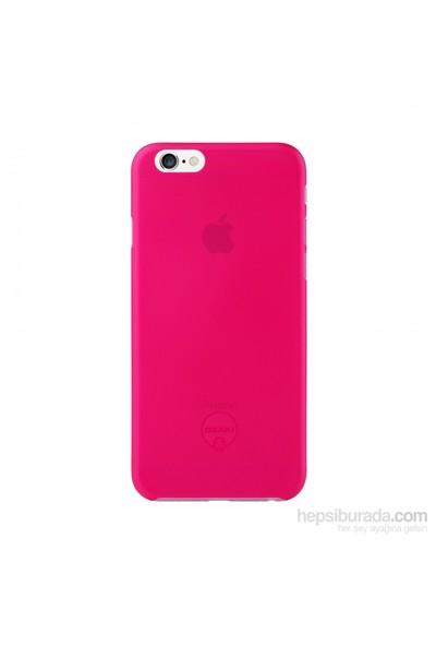 Ozaki O!coat 0.3 Jelly iPhone 6 Kılıfı + Ekran Koruyucu Film (Pembe) - 23062