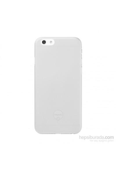 Ozaki O!coat 0.3 Solid iPhone 6 Kılıf (Beyaz) + Ekran Koruyucu Hediye - 23064
