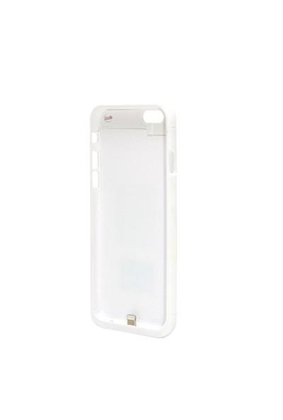 FluxPort Apple iPhone 6 için Kablosuz Şarj Kılıfı - Beyaz - FP-F-036