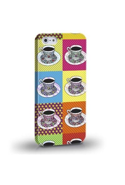 Biggdesign Kahve Fincanı Apple iPhone 5/5S Kapak