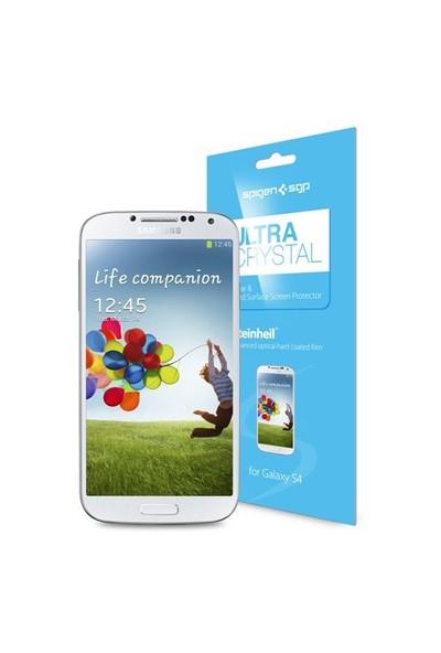 Spigen Samsung Galaxy S4 i9500 Steinheil Ultra Crystal Ekran Koruyucu