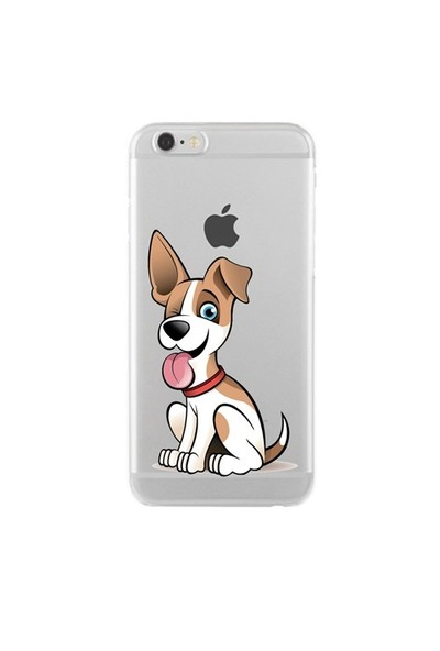 Remeto Samsung Galaxy Note 5 Transparan Silikon Resimli Köpek