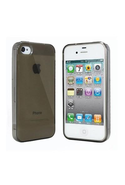 Markaawm Apple iPhone 4S Kılıf iPhone 4 Kılıf Silikon 0.3 Mm