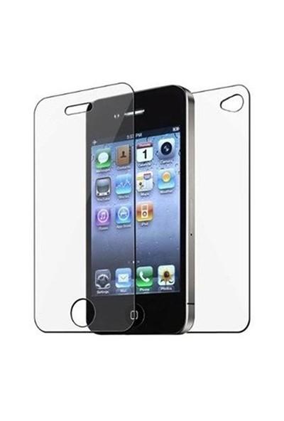 Sonmodashop Apple iPhone 4S Ön Arka Temperli Cam Ekran