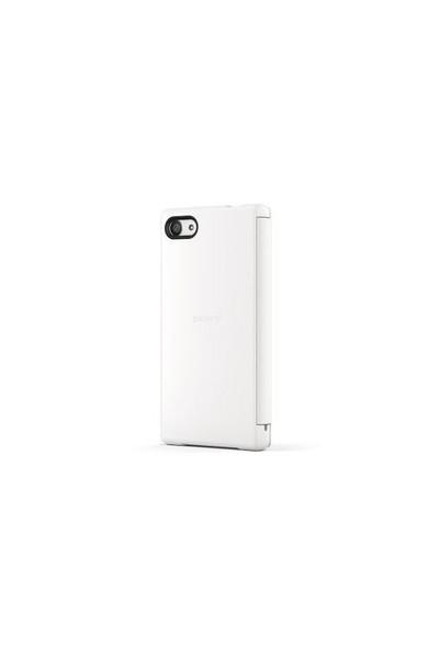 Sony Xperia Z5 Compact SCR44RU/W Style Kılıf Beyaz