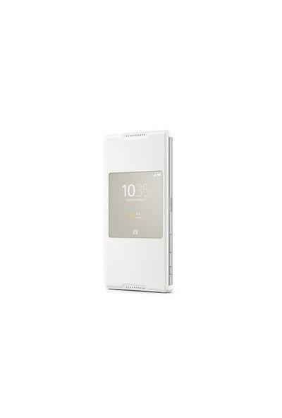 Sony Xperia Z5 Premium SCR46RU/W Style Kılıf Beyaz