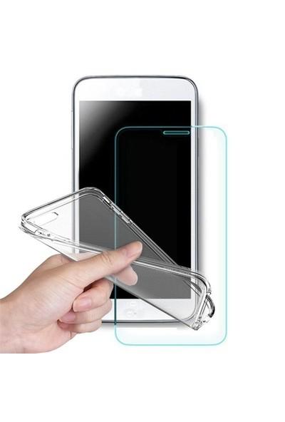 Volpawer Samsung Galaxy E5 Ekran Koruyucu Filmi + Silikon Kılıf