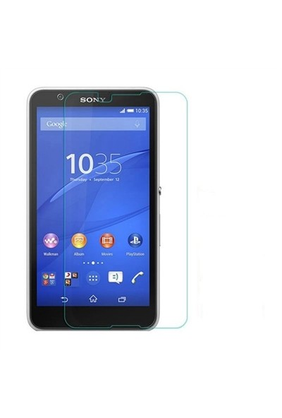 Teleplus Sony Xperia E4g Temperli Cam Ekran Koruyucu Cam Ekran Koruyucu