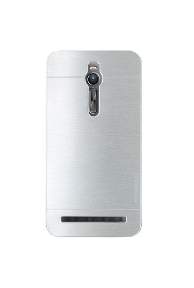 Markaawm Asus Zenfone 2 Kılıf Motomo Metal Kapak