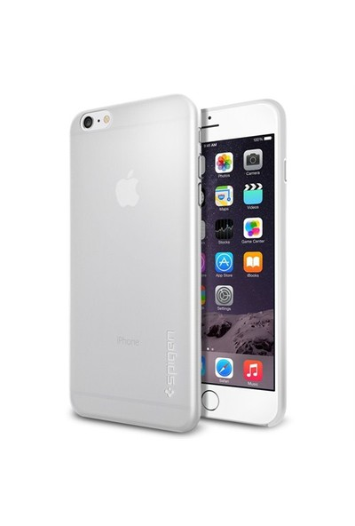 "Spigen Apple iPhone 6s Plus/6 Plus/6S Plus Kılıf (5.5"") Air Skin (0.3mm) Soft Clear - 11157"