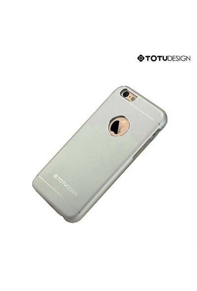 Totu Design Apple iPhone 6 Jaeger Series Metal Arka Kapak Space Grey