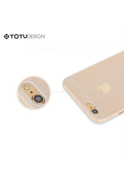 TotuDesign Apple iPhone 6 Plus Ultra İnce Kılıf Turuncu Zero Series Apple