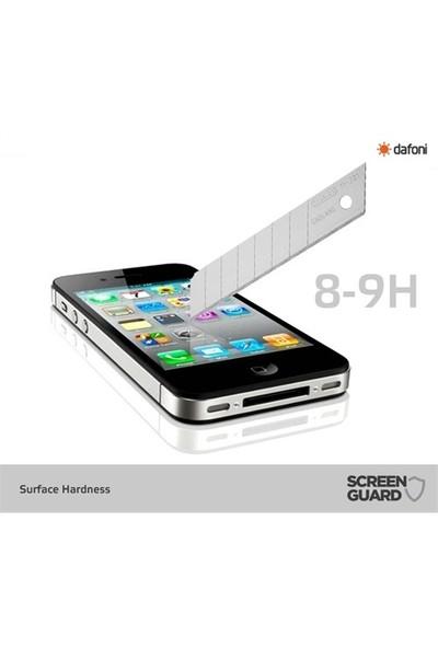 Dafoni Apple İphone 4 / 4S Tempered Glass Ayna Gold Cam Ekran Koruy