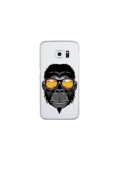 Remeto Samsung S6 Edge Silikon Cool Maymun