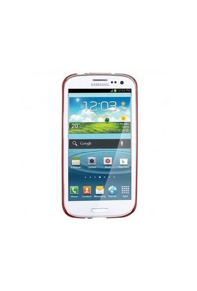 Targus Slim Shell Sert Samsung Galaxy S 4 Kılıfı (Kırmızı) 21183