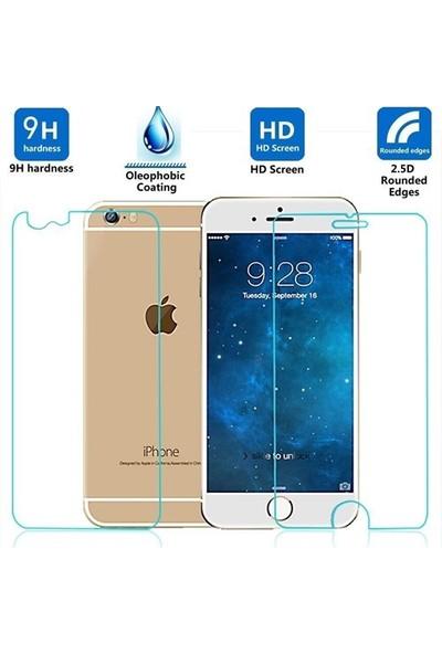 Sonmodashop Apple iPhone 6S Ön Arka Temperli Cam Ekran