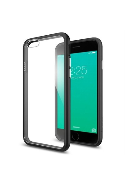 Spigen Apple iPhone 6s Kılıf Ultra Hybrid Black-SGP11600