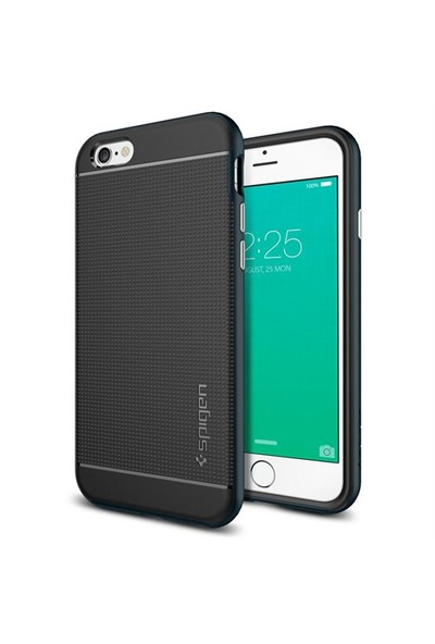 Spigen Apple iPhone 6S Kılıf Neo Hybrid Metal Slate - 11619