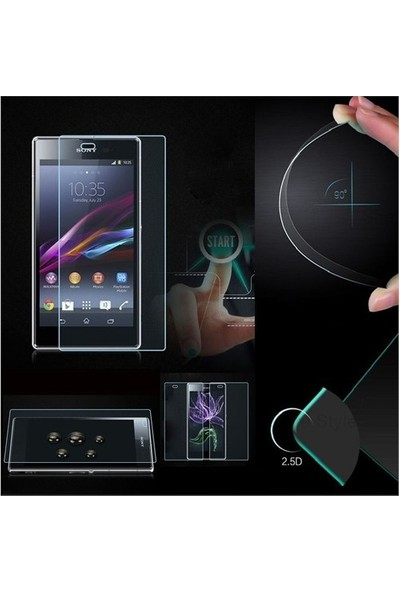 Markaawm Sony Xperia T3 Ekran Koruyucu Temperli