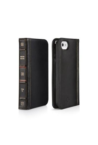 Twelve South BookBook Deri iPhone 5 Kılıfı (Siyah)