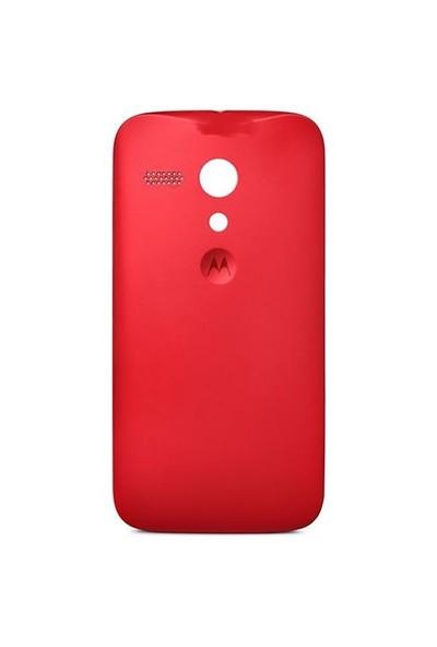 Motorola Moto G Pil Kapak Kırmızı