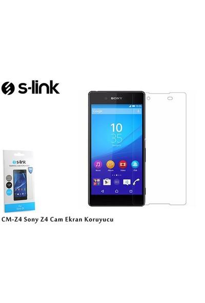 S-Link Cm-Z4 Sony Z4 Cam Ekran Koruyucu