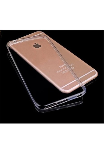 Takıcadde Apple iPhone 6 Ultra Thin 3Mm Şeffaf Görünmez Kılıf
