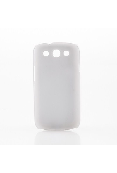 Biggdesign Samsung Galaxy S3 Beyaz Kapak 051