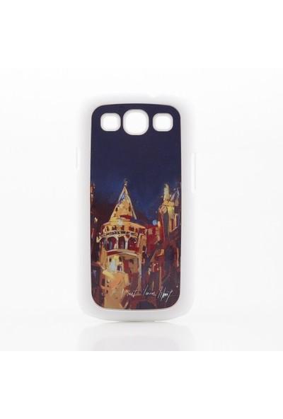 Biggdesign Samsung Galaxy S3 Beyaz Kapak 061