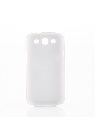 Biggdesign Samsung Galaxy S3 Beyaz Kapak 063