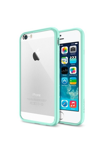 Spigen Apple iPhone 6S/6 Ultra Hybrid Mint (PET) Kılıf - 11021