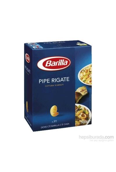 Barilla Pipe Rigate (Mantı) Makarna 500 Gr