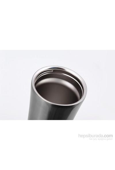 Pratigo Devrilmez Gecko Gri Renk Termos/Mug