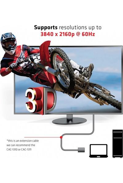 Club 3D HDMI 2.0 Erkek-Dişi Çevirici 3m 4K 60Hz/FHD 120Hz ve 3D Destekli/18Gbps Kablo (CAC-1321)