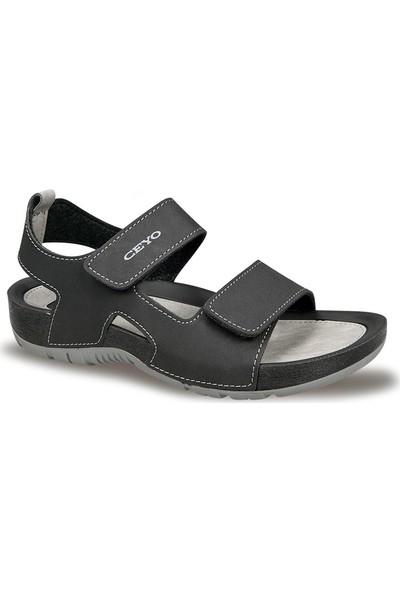 Ceyo Kadın Sandalet Siyah 9828-2
