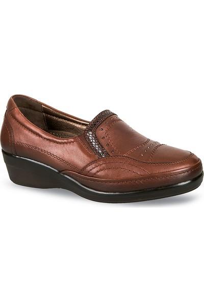 Ceyo Kadın Ayakkabı Kahverengi 9920-8