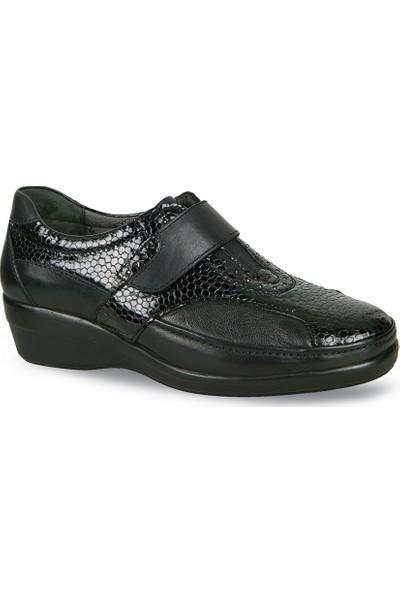 Ceyo Kadın Ayakkabı Siyah 9920-9
