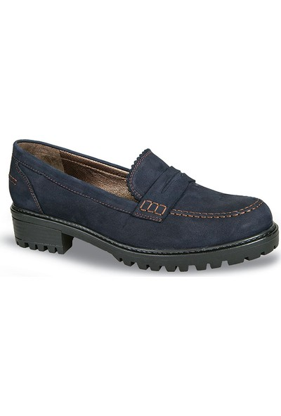 Ceyo Kadın Ayakkabı Lacivert 6056