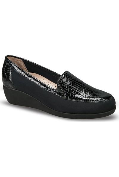 Ceyo Kadın Ayakkabı Siyah 2120