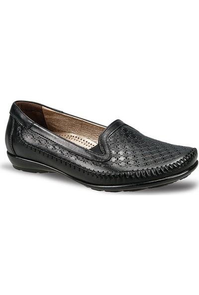 Ceyo Kadın Ayakkabı Siyah 9921-6