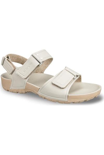 Ceyo Erkek Sandalet Bej 9829-3